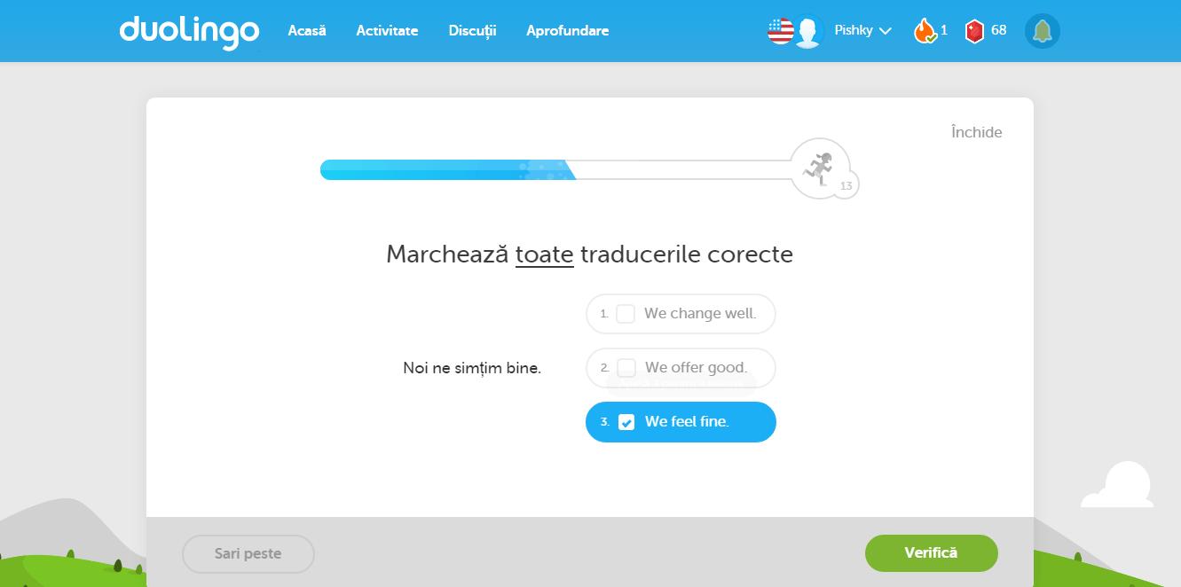 duolingo limba engleza
