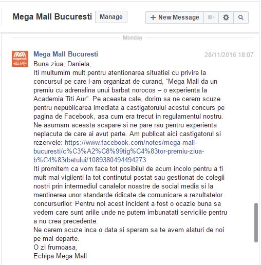 mega mall scuze