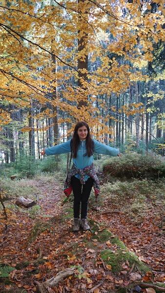 Prin pădure Muntii Izera Daniela Bojinca Blog