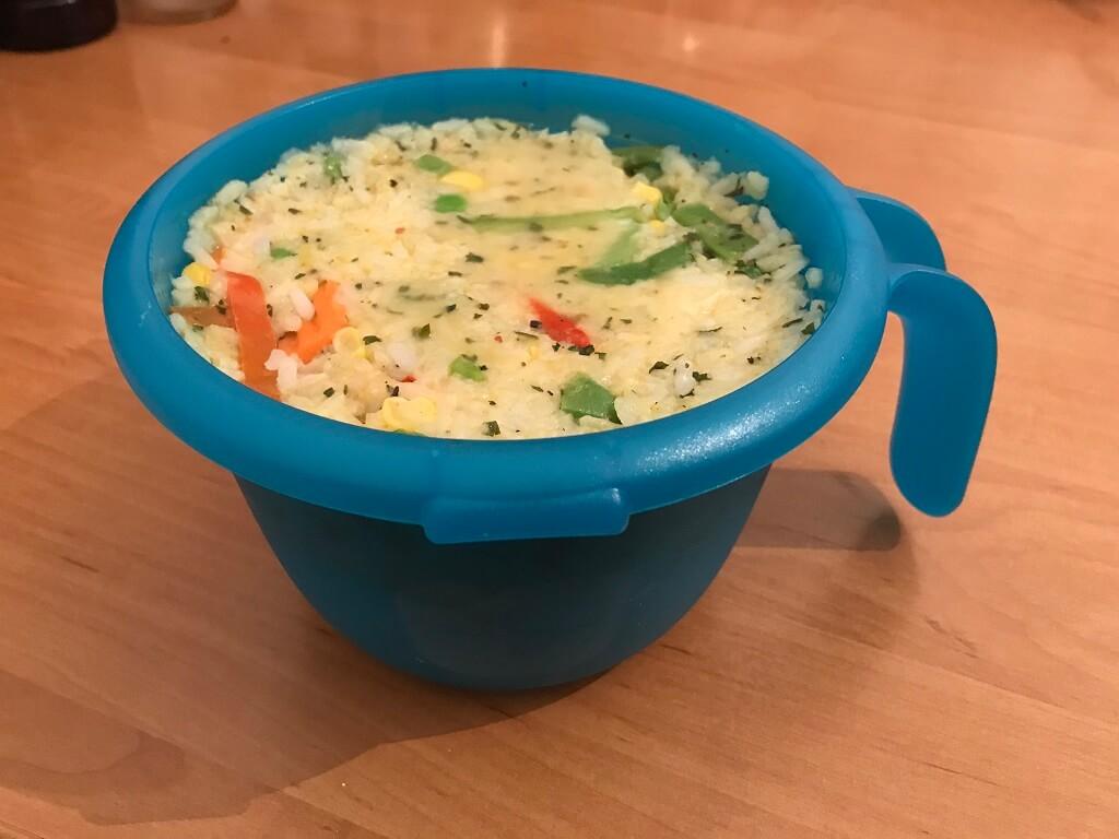 orez cu legume vas tupperware daniela bojinca blog