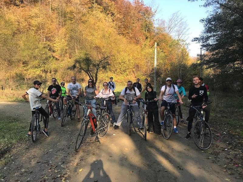 bicicleta electrica trasee montate bicicleta mejedinti proiect european romania bulgaria jamp ro bg bike app