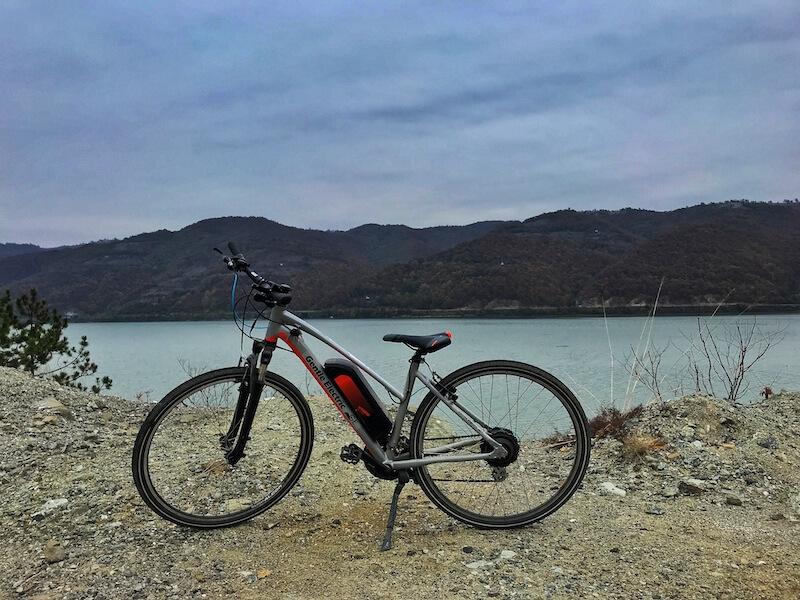 bicicleta electrica traseu montan dunare mehedinti jamp ro bg bike app proiect european