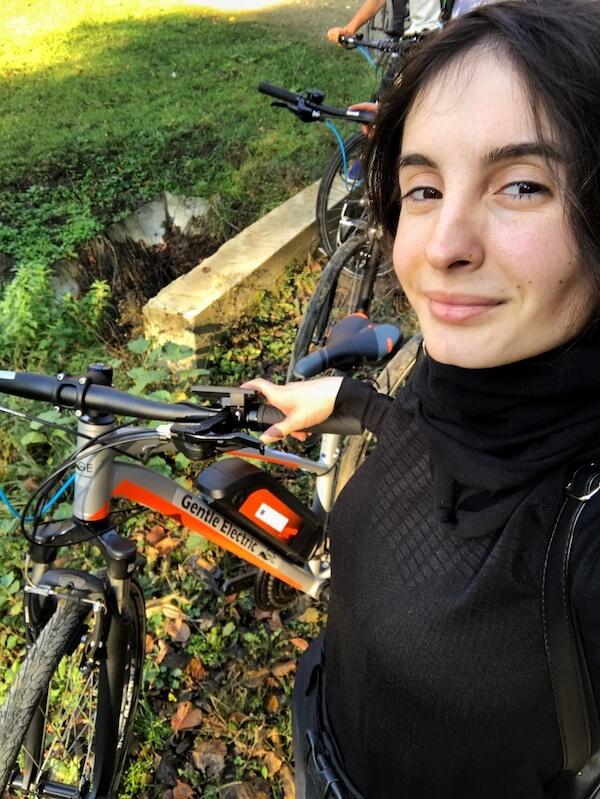 daniela bojinca bicicleta electrica trasee montane mehedinti isverna jamp ro bg bike app romania bulgaria
