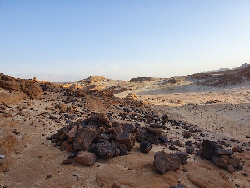 visit israel timna park desert view