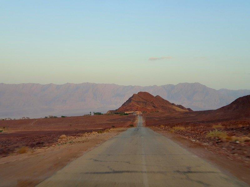 visit israel timna park entrance desert view