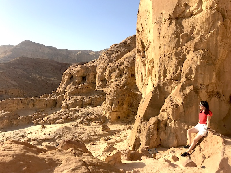visit israel timna park view the chronicles