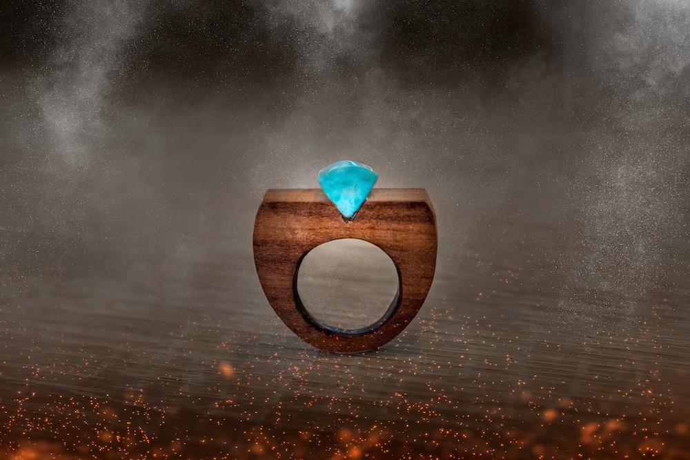 inel de lemn handmadeatelier de bijuterii daniela bojinca